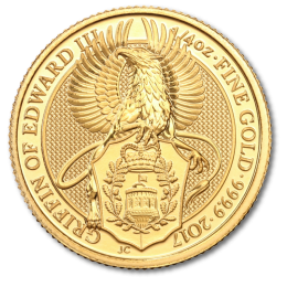 1/4 oz Queen's Beasts Griffin Gold Coin (2017)