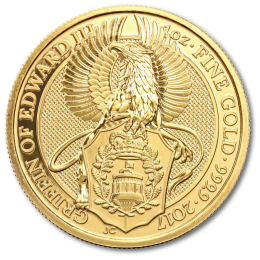 1 oz Queen's Beasts Griffin Gold Coin (2017)