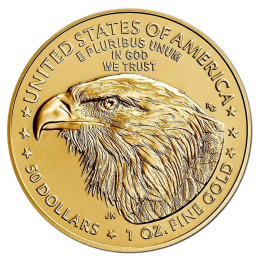 1 oz American Eagle Gold Coin (2021) Type 2