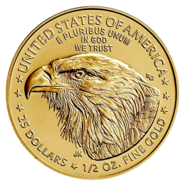 1/2 oz American Eagle Gold Coin (2021) Type 2